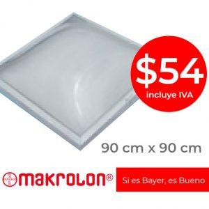 Precio domos policarbonato bayer