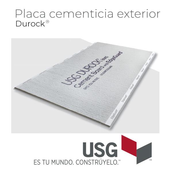 Plancha cemento fachadas durock