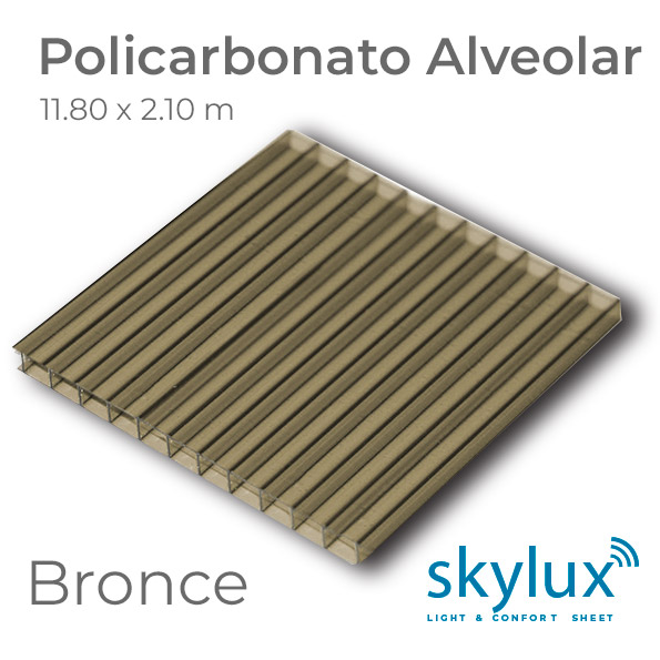 Policarbonato Bronce Skylux