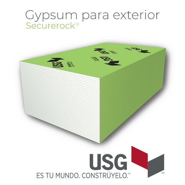Gypsum para exterior